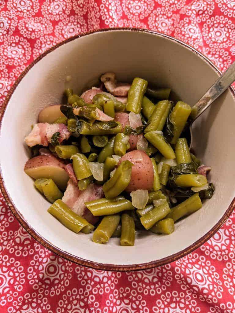 Crockpot Express Green Beans