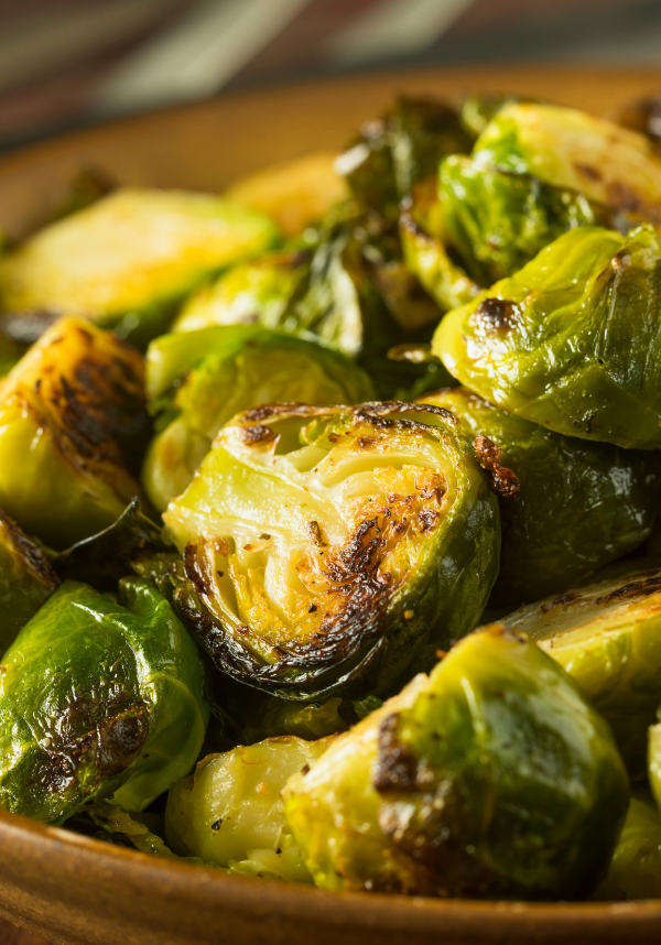 Crockpot Express Brussel Sprouts with Balsamic Vinegar
