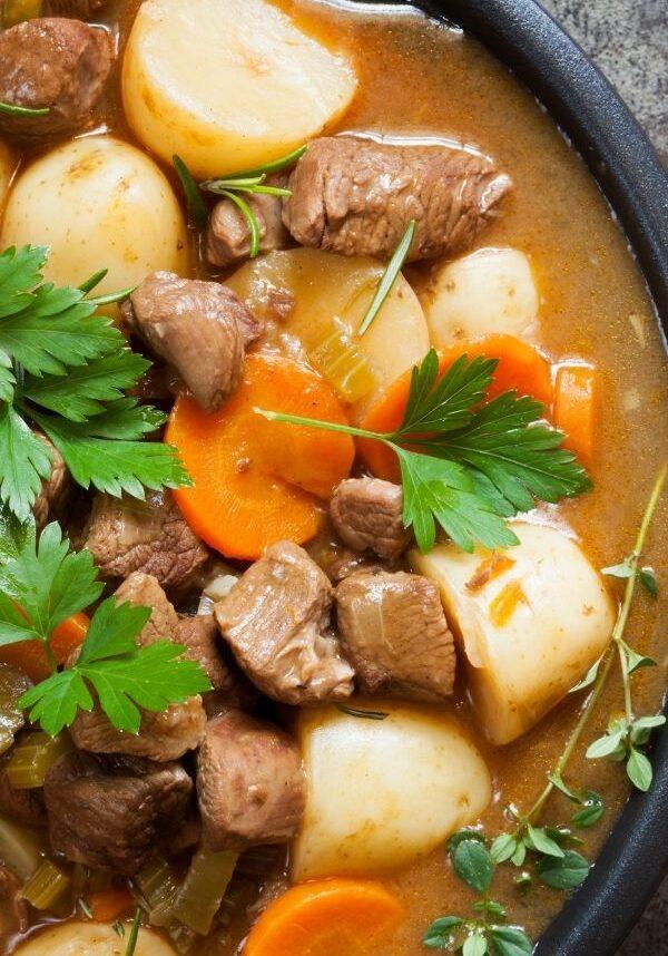 crockpot express beef stew